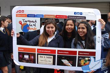Lanzamiento de portal Web: Gran acogida en Iquique a tarapacaenelmundo.cl