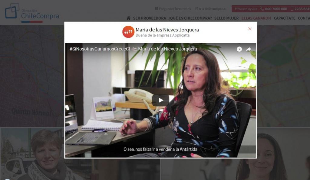 Applicatta participa en campaña de ChileCompra y el Centro de Comercio Internacional de Naciones Unidas para aumentar oportunidades de mujeres empresarias de Chile